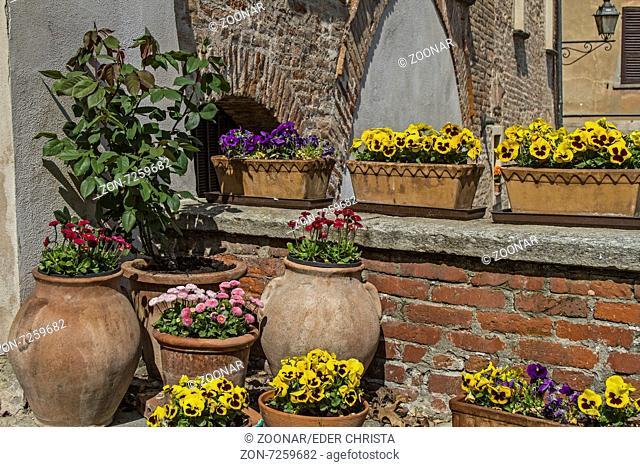 Spring greetings at the doorstep