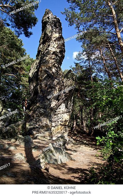 Teufelsmauer (Devil's Wall), Timmenrode, Blankenburg, Harz District, Saxony-Anhalt, Germany / Teufelsmauer, Timmenrode, Blankenburg, Landkreis Harz