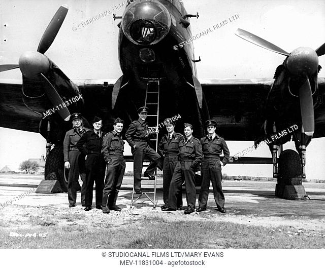 The Dam Busters (1955) , Lancaster Bomber. (Strictly editorial use only. Television and book cover use must be cleared before use