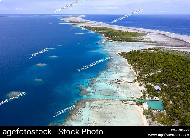 Impressions of Ahe Atoll, Tuamotu Archipel, French Polynesia