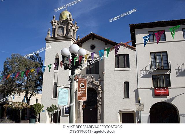 Calle Olvera, El Pueblo, is the site where Los Angeles was founded and today is a Mexican marketplace that is a must see for LA visitors