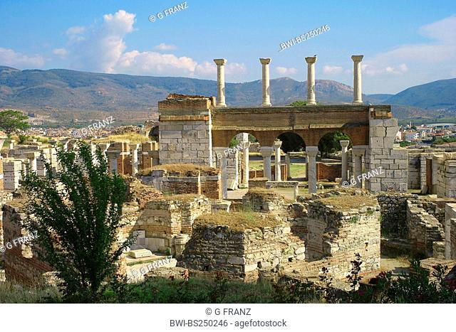 basilica of St John, Turkey, West Anatolia, Selcuk