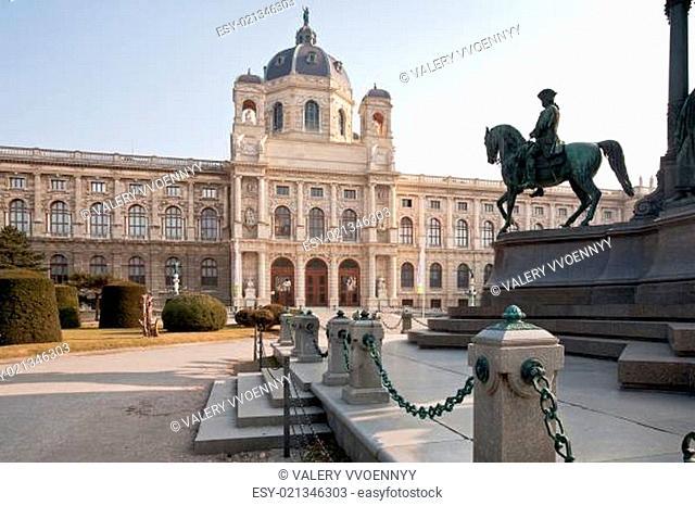 view on Kunsthistorisches Museum,Vienna,Austria