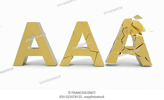 Financial Rating Aaa Stock Photos And Images Age Fotostock