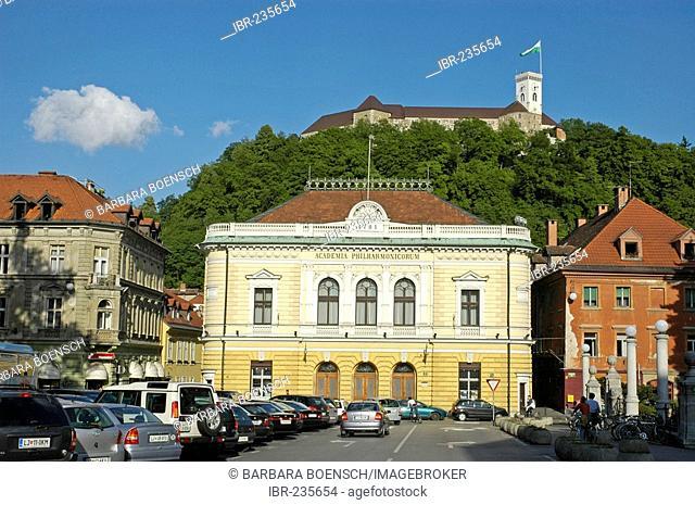 Slovene Philharmonic building, Ljubljana, Slovenia