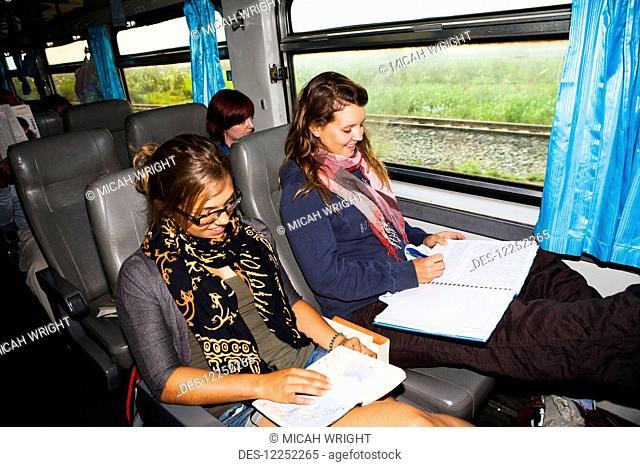 A train ride from Bangkok to Northern Thailand; Thailand