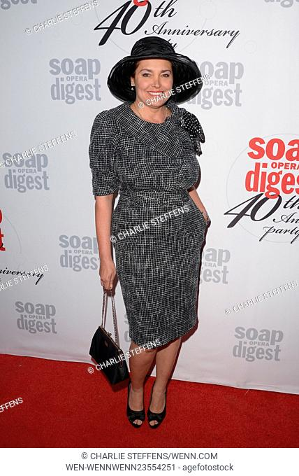 Soap Opera Digest's 40th Anniversary party on February 24, 2016 at The Argyle Hollywood in Hollywood, California. Featuring: Devin DeVasquez Where: Los Angeles