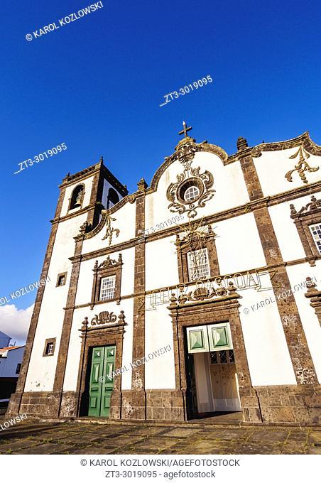 Church in Sao Roque, Sao Miguel Island, Azores, Portugal