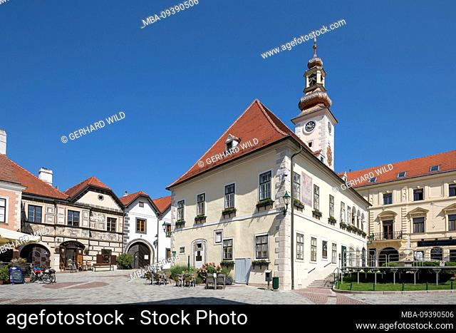 The town hall (today registry office), Mödling, Lower Austria, Austria