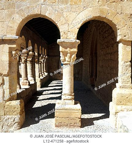 Romanesque church of San Miguel (11th century), San Esteban de Gormaz. Soria province, Castilla-León, Spain