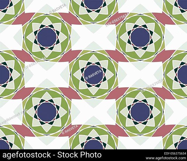 Elegant Ornaments Geometric Mandala. Ancient decorative ornament pattern. Hand-drawn creative template