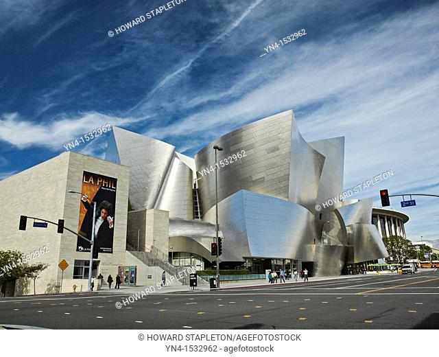 Walt Disney Concert Hall  Los Angeles, California  Frank Gehry architect