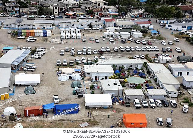 UN Logistics Base Port au Prince Haiti