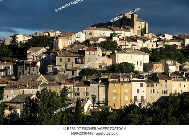 Valensole, typical village Provencal, Provence, France