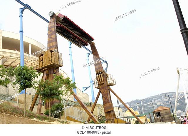 Habtoor Land theme park in Jamhour, Lebanon