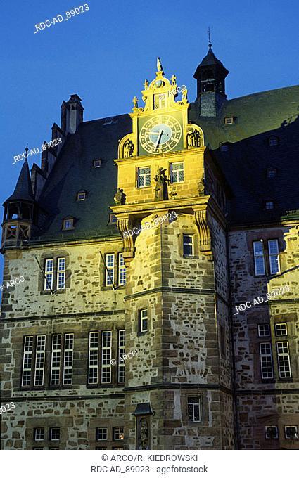 Townhall Marburg Hessen Germany