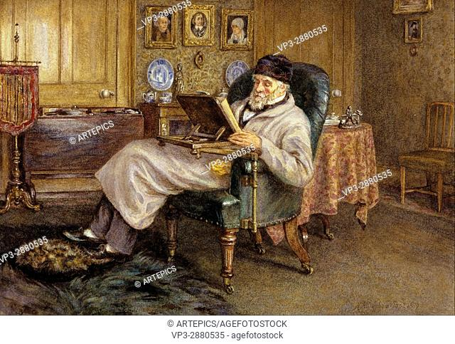 Mrs Helen Allingham - Thomas Carlyle, 1795 - 1881. Historian and essayist - National Galleries of Scotland