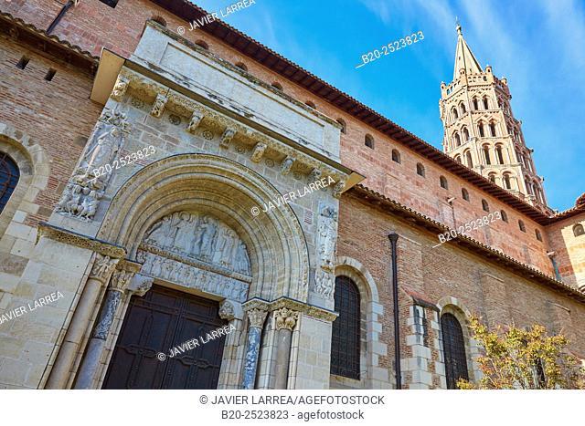 Basilique Saint Sernin. Toulouse. Haute Garonne. France