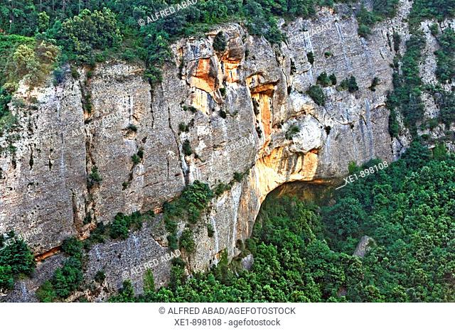 Serra del Verd. Solsones, Lleida province, Catalonia, Spain