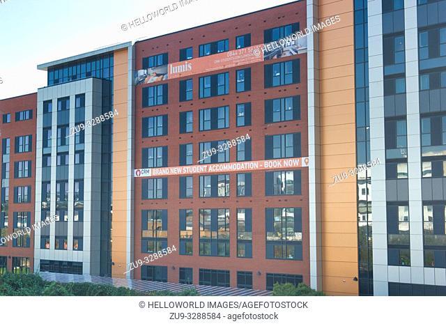New student accommodation, Cardiff, wales, United Kingdom