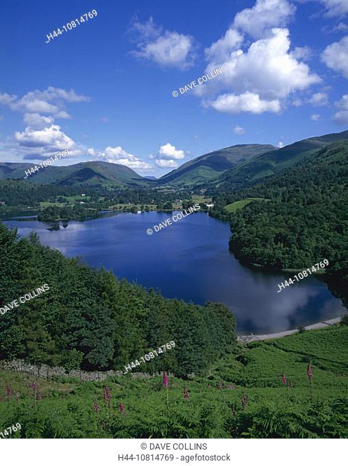 Grasmere, Lake District, national park, Cumbria, England, Europe, Great Britain, landscape