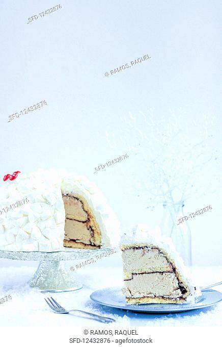 Baileys coffee cake for Christmas