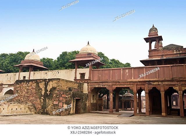 India, Uttar Pradesh, Fatehpur Sikri, archaeological site