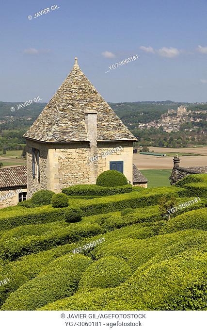 Gardens of Marqueyssac, Vezac, Dordogne, Nouevelle Aquitaine, France