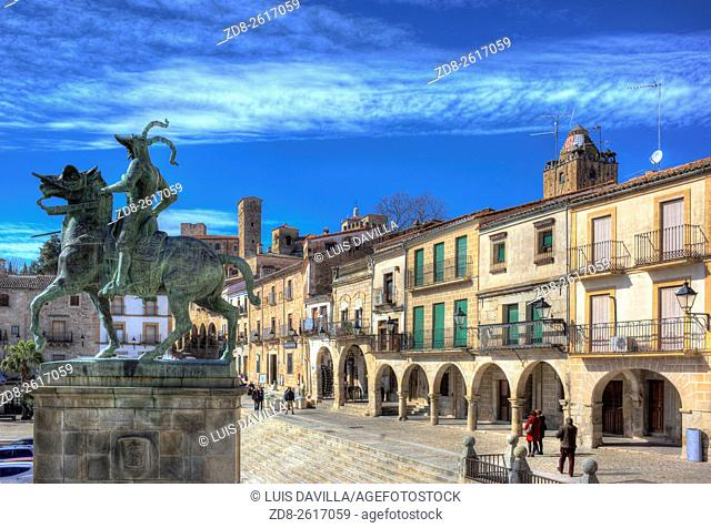 Trujillo (Extremaduran: Trujillu) is a municipality located in the province of Cáceres, in the autonomous community of Extremadura, Spain
