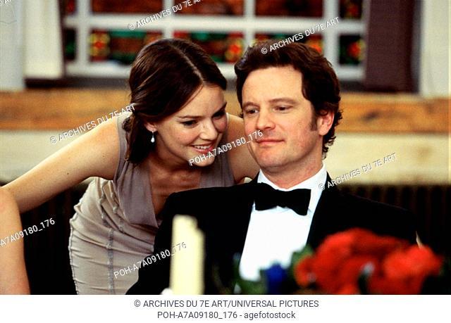 Bridget Jones: The Edge of Reason Year : 2004 UK / USA  Director : Beeban Kidron  Jacinda Barrett, Colin Firth Photo: Laurie Sparham