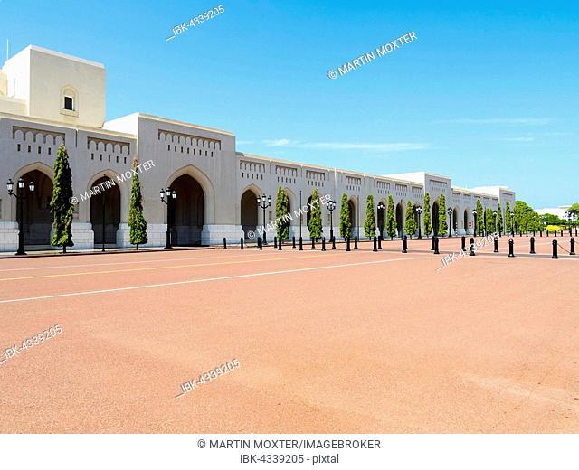 Al Alam Palace, Muscat, Oman