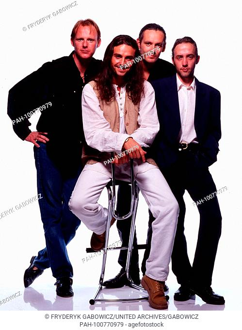"""""""""""Wet Wet Wet"""", britische Popband, in Baden-Baden, Deutschland 1994. British pop band """"Wet Wet Wet"""" at Baden-Baden, Germany 1994"