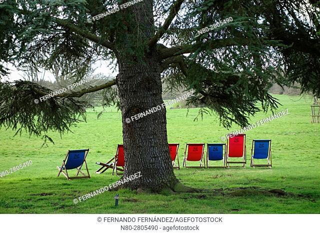 Basildon Park. Berkshire. England