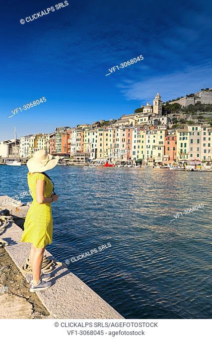 Portovenere, a beautiful seaside town