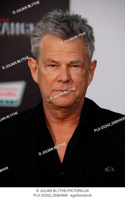 """David Foster 03/22/2017 """"""""Power Rangers"""""""" Premiere held at the Westwood Village Theater in Westwood, CA Photo by Julian Blythe / HNW / PictureLux"""