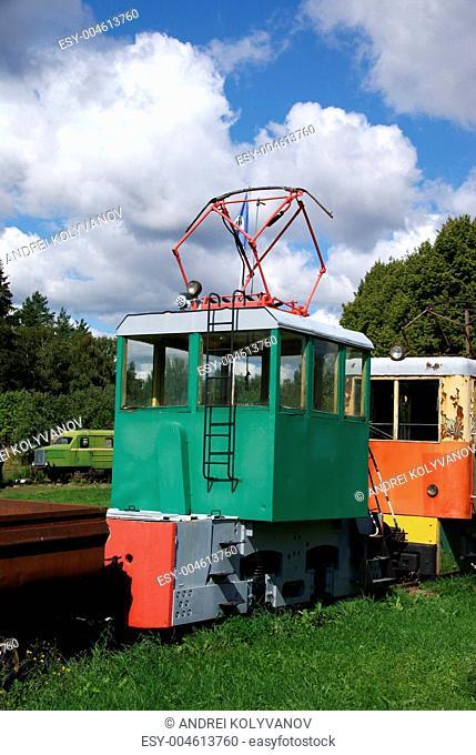 The electric locomotive