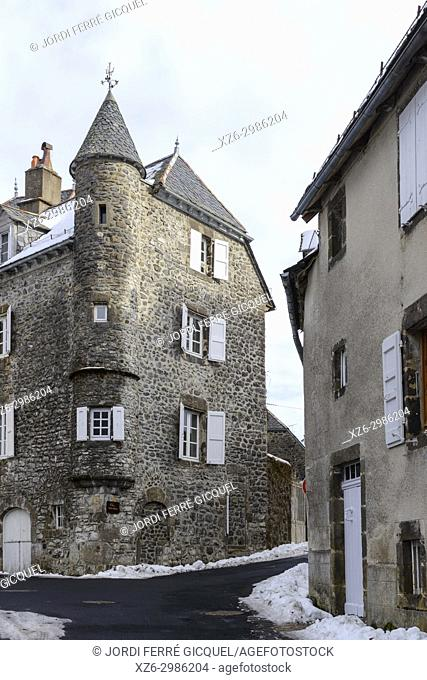 Salers, Cantal department, France, Europe