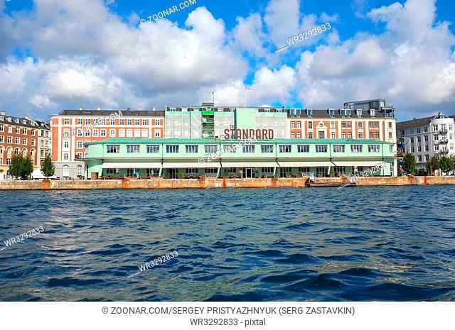 COPENHAGEN, DENMARK - AUGUST 22, 2014: A restaunt complex
