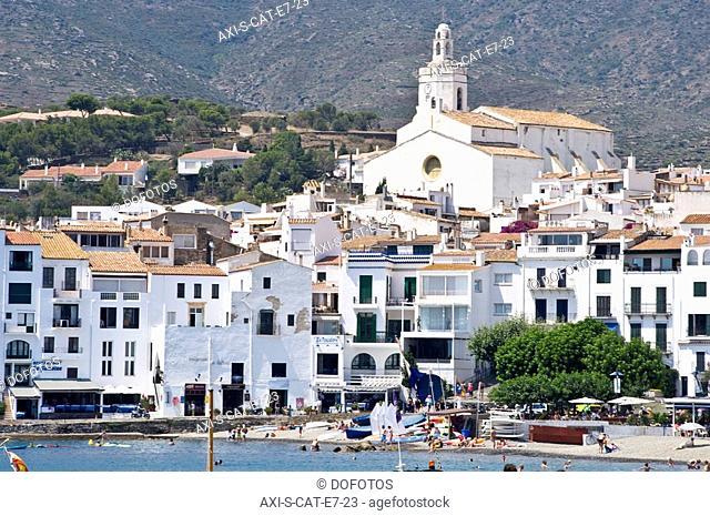 Salvador Dali's hometown Cadaques, Costa Brava, Catalunya, Spain
