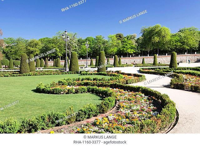 Retiro Park (Parque del Buen Retiro), Madrid, Spain, Europe