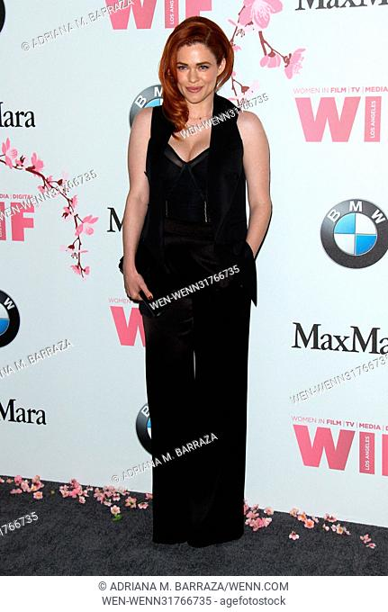 Women In Film 2017 Crystal + Lucy Awards held at The Beverly Hilton Hotel. Featuring: Blair Bomar Where: Los Angeles, California