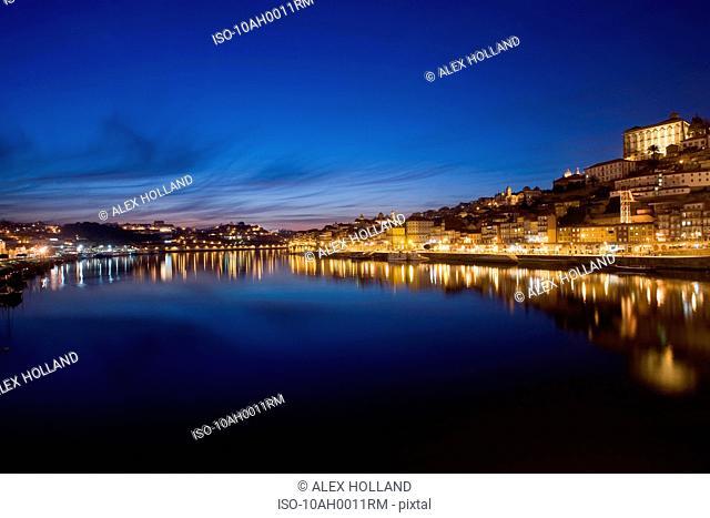 Porto and the river Douro