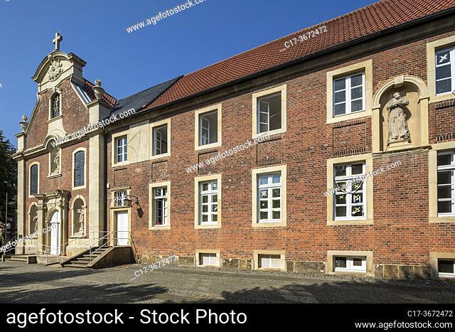 Borken, Gemen, D-Borken, D-Borken-Gemen, Hohe Mark Westmuensterland Nature Park, Muensterland, Westphalia, North Rhine-Westphalia, NRW, Freiheit Gemen