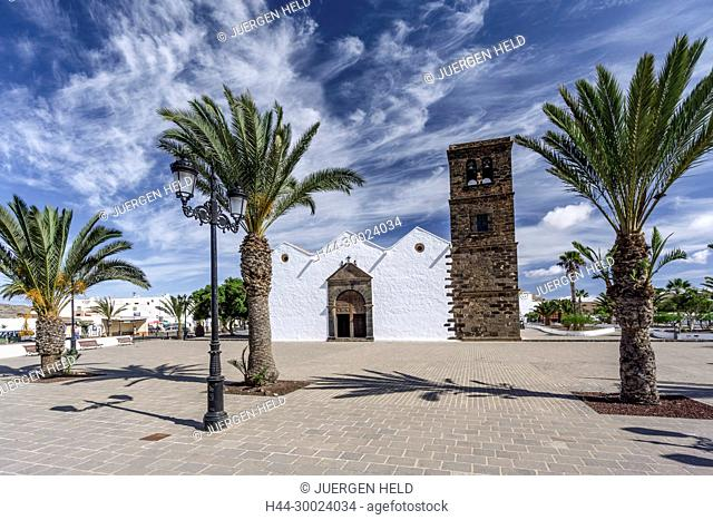 Church of Nuestra Senora de la Candelaria La Oliva Fuerteventura Canary Islands Spain Europe