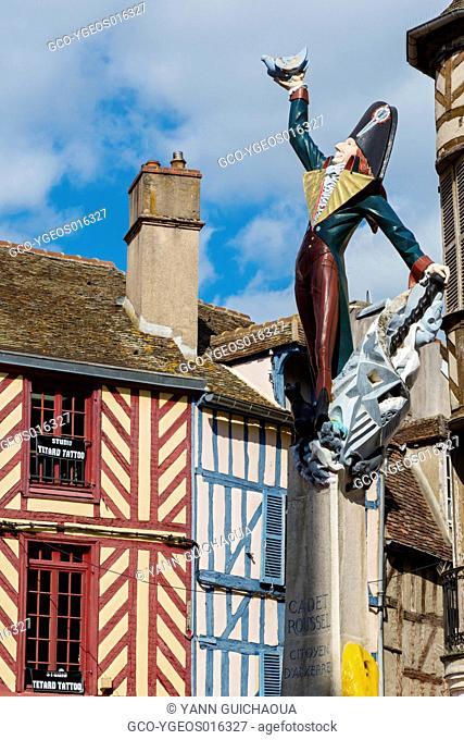 Cadet Roussel,rue Paul Bert, Auxerre, Yonne, Burgundy, France