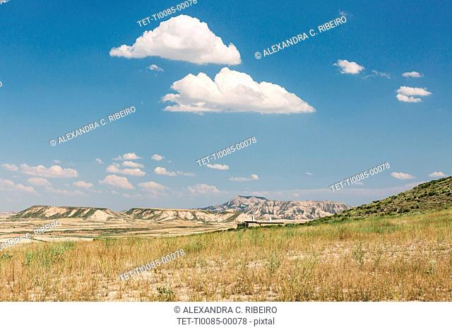 Bardenas Reales in Navarra, Spain