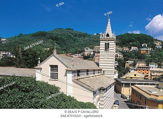 Italy - Liguria Region - Moneglia - Church