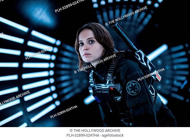 Rogue One: A Star Wars Story. Jyn Erso (Felicity Jones)