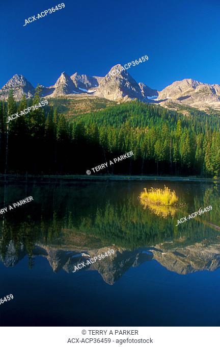 Island Lake & Lizard Range - Fernie, BC. Canada