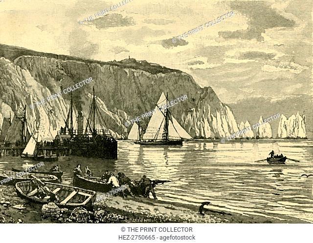 'Alum Bay', 1898. Creator: Unknown